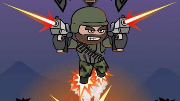 Mini Militia 3D game