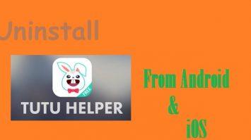 How to Uninstall TutuApp